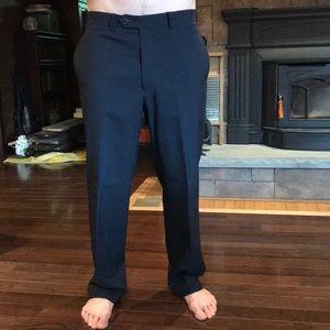 Men's Ralph Lauren wool black dress pants